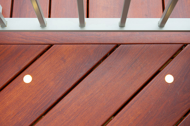 zuri deck boards close-up Potomac, Maryland