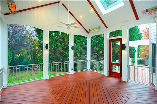 Zuri Decking Sunroom