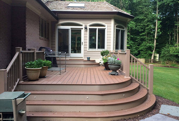 Composite decking in Bethesda