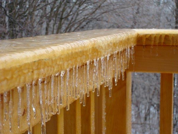 frozen deck in maryland