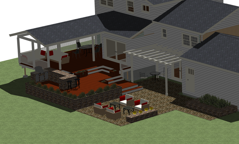 deck design contracting in Maryland