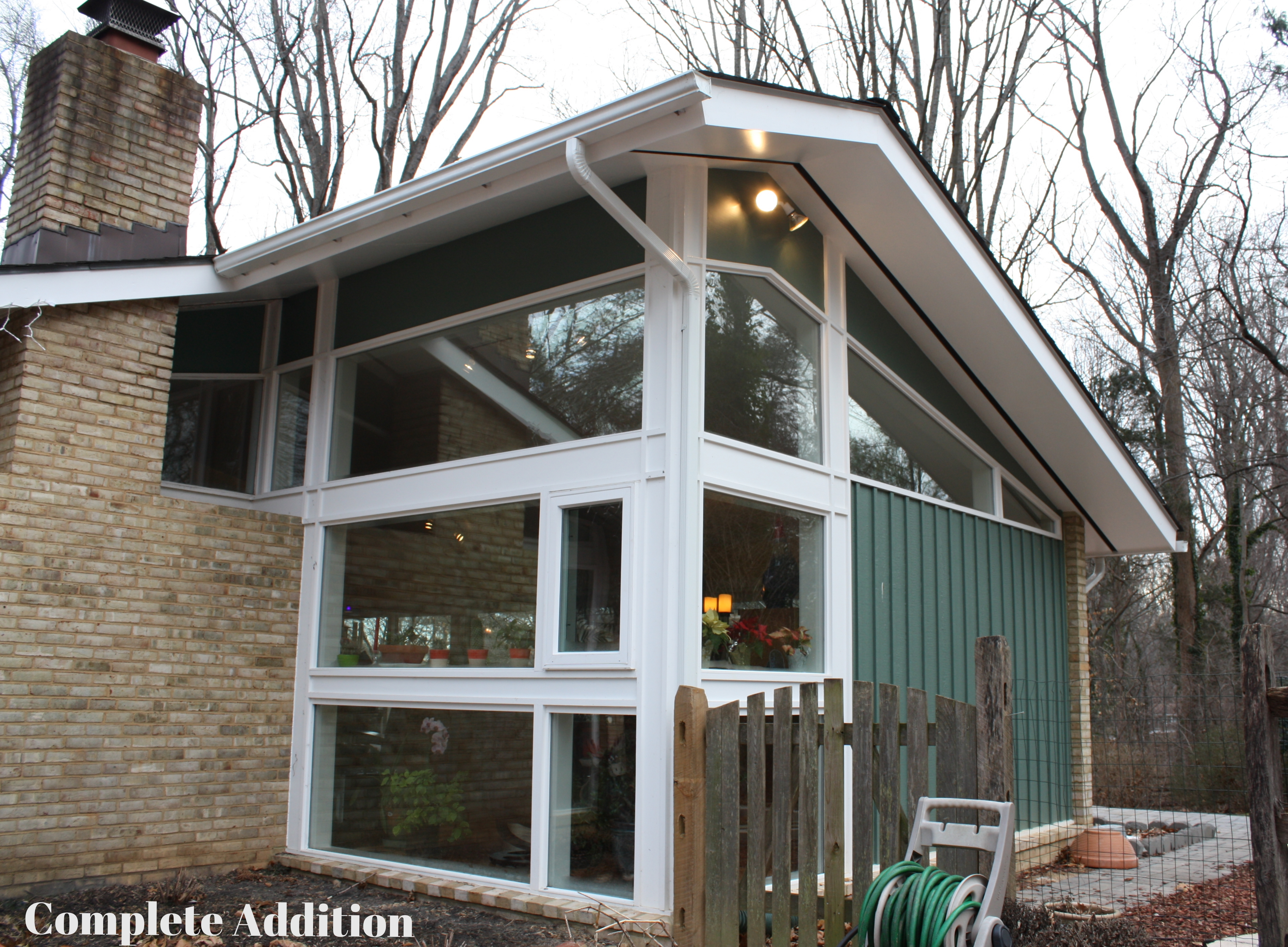 Sunroom Addition For A Historic Carderock Springs Home