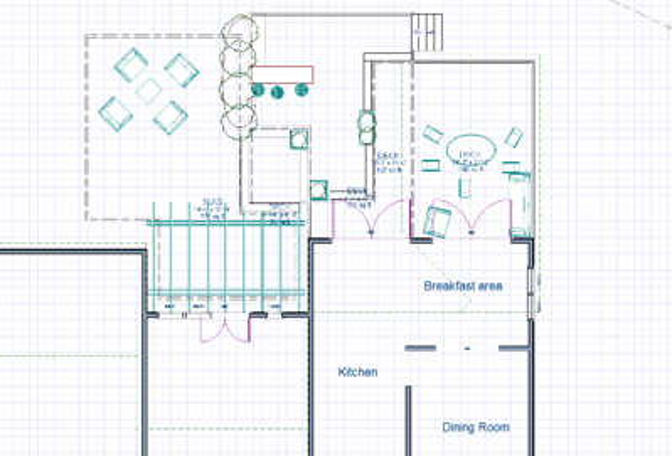 outdoor living space schematics virginia