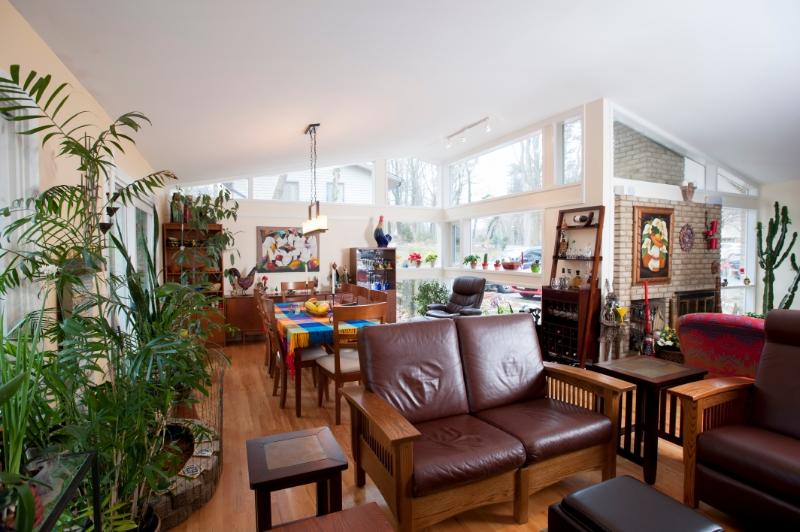 home addition Bethesda, Maryland Carderock Springs interior shot
