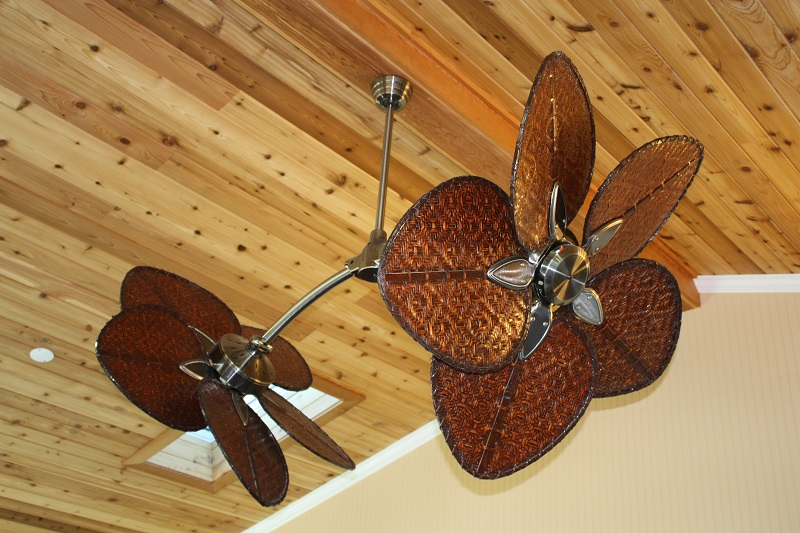 custom designer fans sun room addition