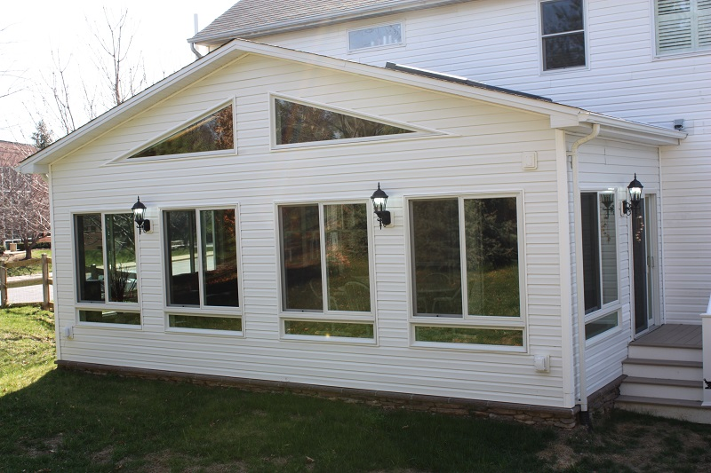 sun room addition properly zoned Maryland