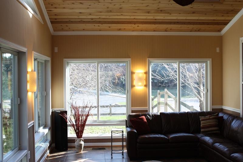 sun room addition Gaithersburg, Maryland AZEK decking