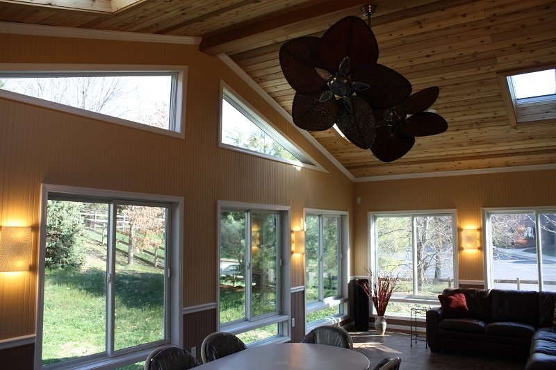 Sun room interior bright beautiful Gaithersburg, MD