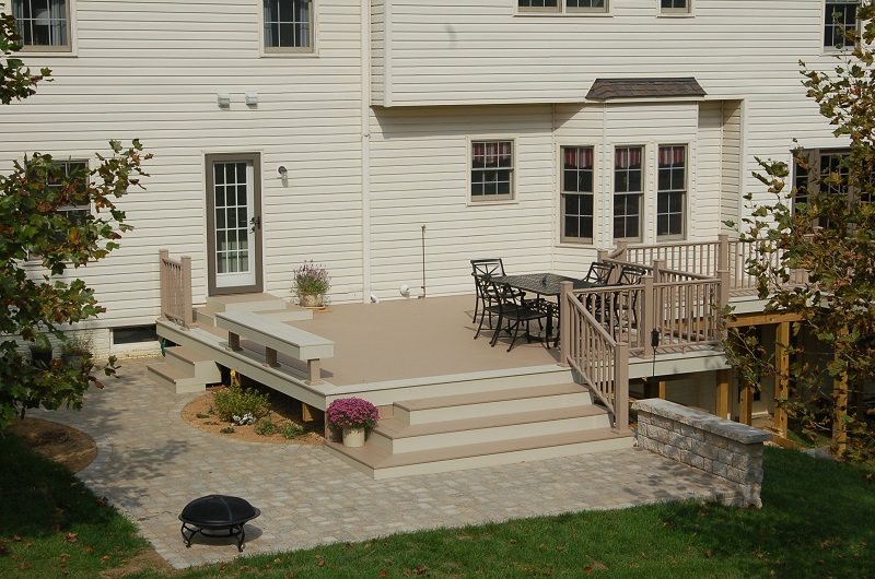 Azek Brownstone deck Gaithersburg MD