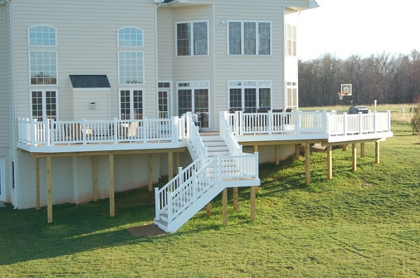 AZEK special collection vinyl deck Poolesville, Maryland