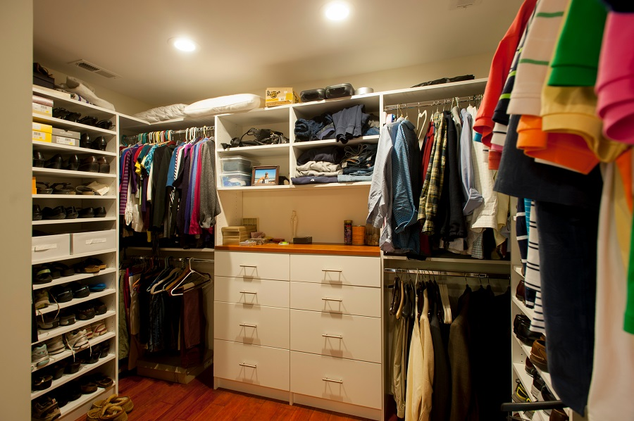 custom walk-in closet Fairfax Virginia