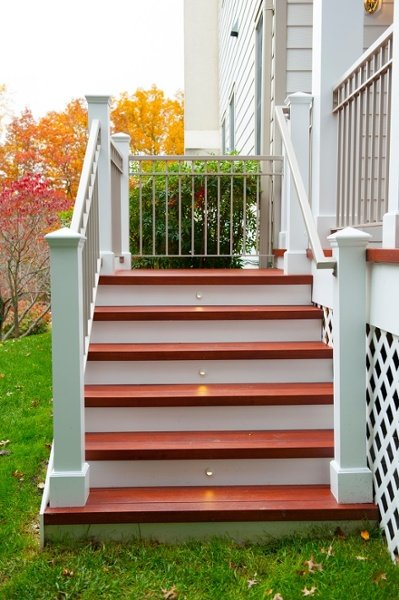 step lighting stairs lights premium Zuri decking Bethesda, MD