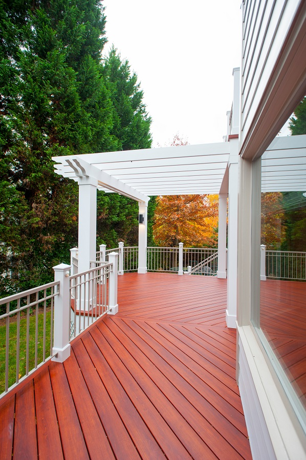 premium Zuri decking walkway Fairfax,, VA with pergola