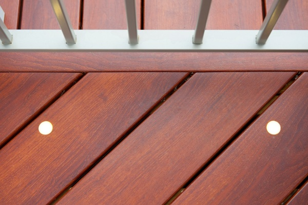 integrated deck lights Bethesda, MD premium Zuri decking