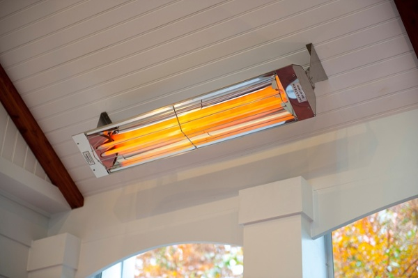 Sunglo infrared heater for Bethesda, MD screen porch heated up