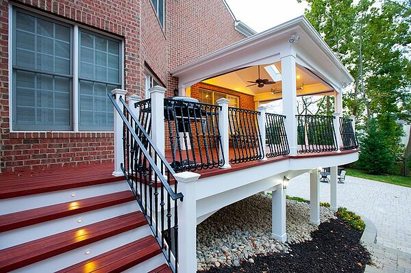 How much does a screened porch cost compared to a deck for Porches login