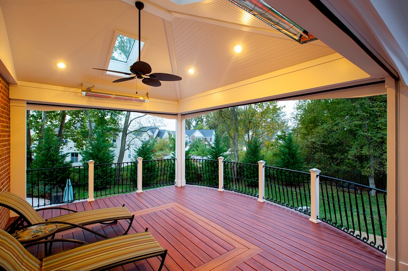 How much does it cost to add a skylight to your screened for Cost of retractable screens