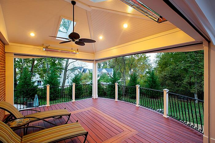 how much does it cost to add a skylight to your screened in porch
