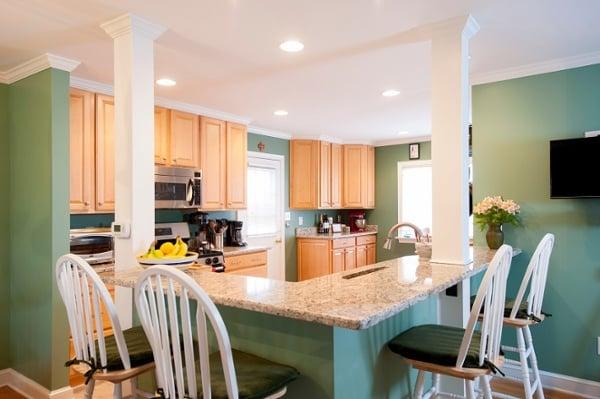 open kitchen addition remodel design builders Fairfax VA