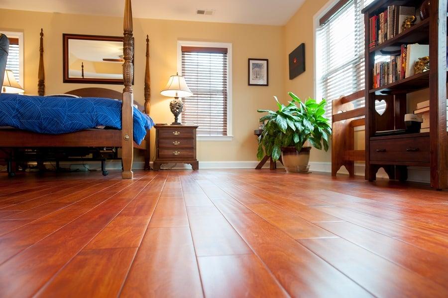 master bedroom remodel addition with Brazilian hardwood floors Fairfax VA