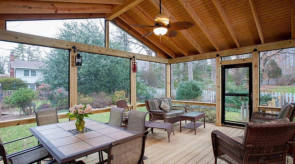 Building A Deck Or Screen Porch On An Existing Structure