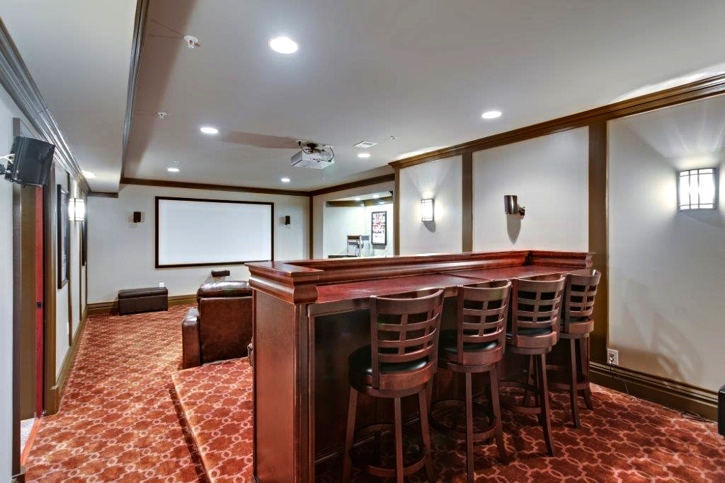 Cool Media And Entertainment Room Addition Contractor In