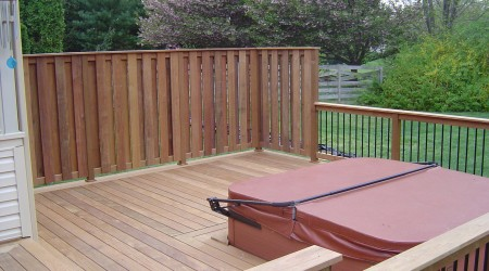 Brazilian_hardwood_privacy_fence_hot_tub_Ellicott_City