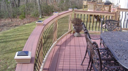 Trex deck in Howard County
