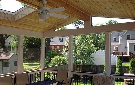 deck contractor portfolio maryland virginia nova