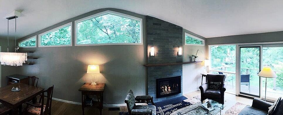 sunroom room addition in carderock springs, bethesda, maryland