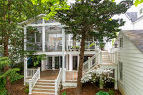 chevy chase 2 story deck screened porch. 15