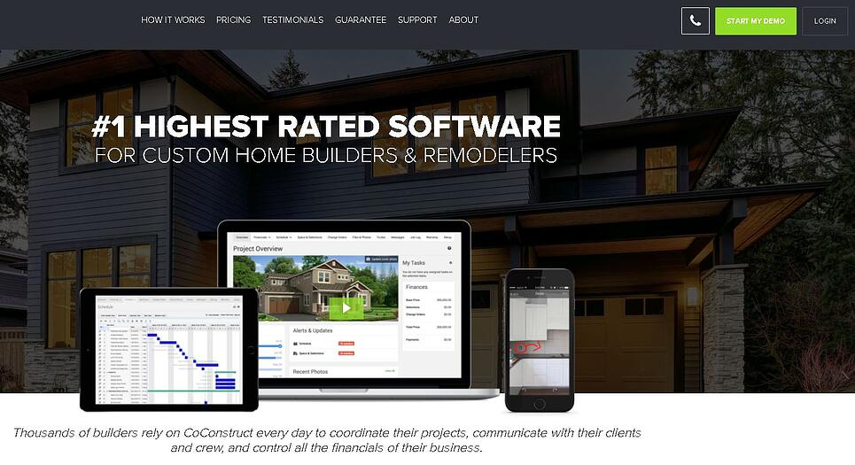 coconstruct front page screen grab