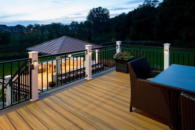 Design Builders deck lighting