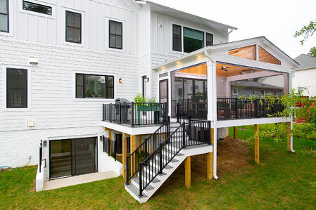 falls church screened porch and deck