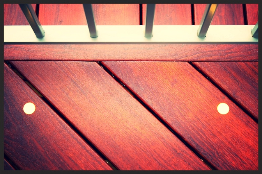 Zuri decking Zuri trim brazilia with deck light inserts