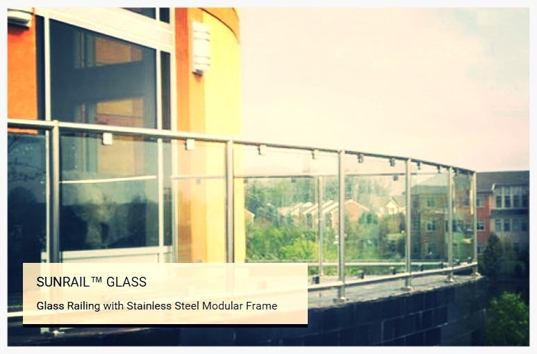 SunRail Glass railings picture