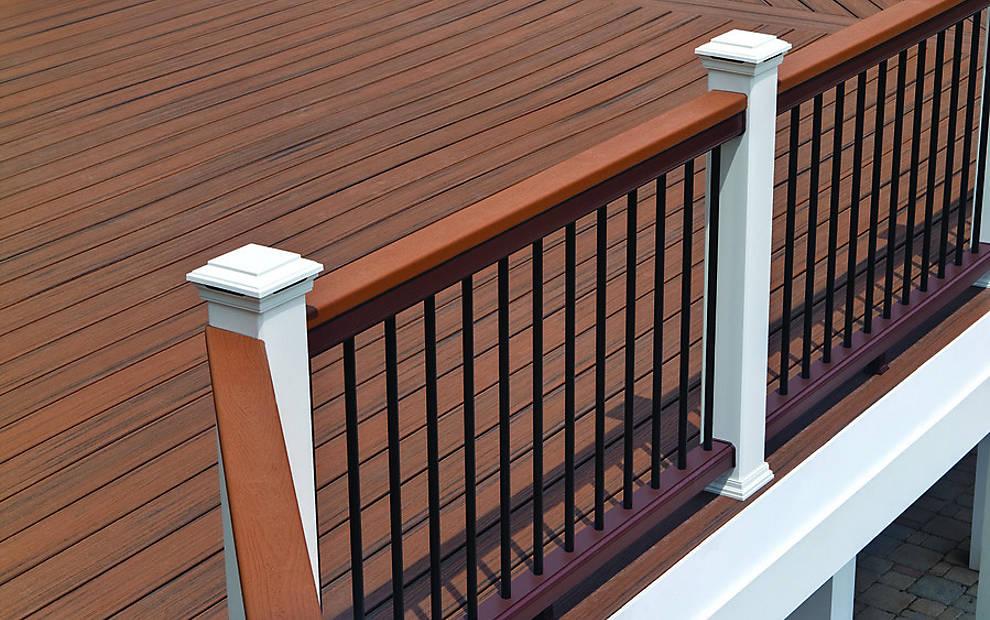 Trex composite railing 1