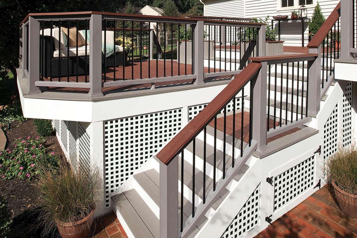 Trex composite railing 2