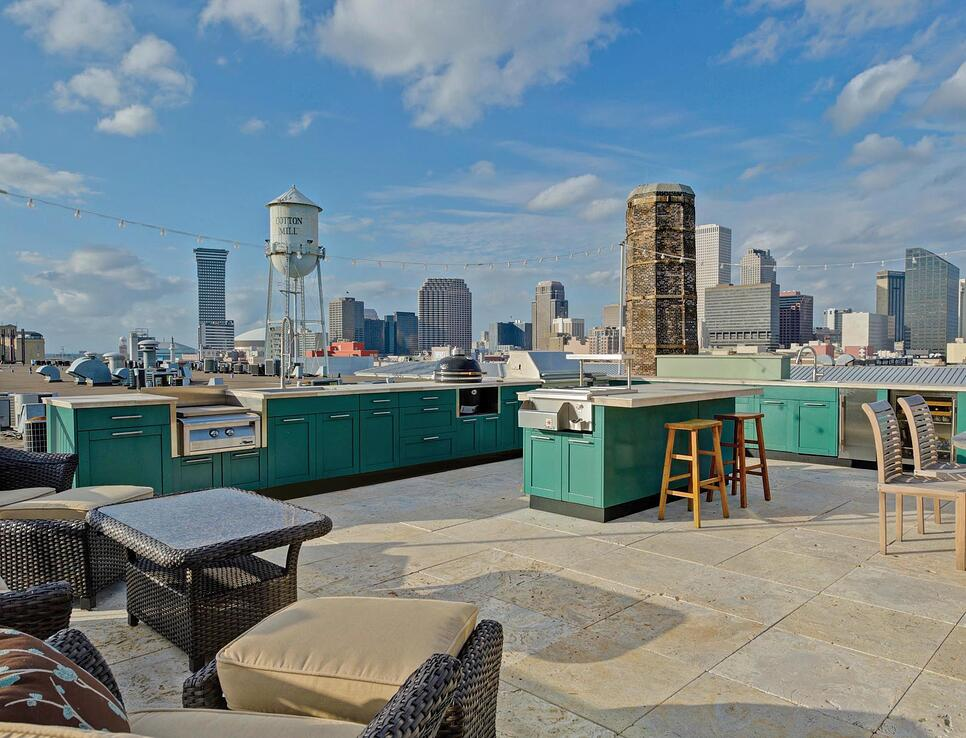 What Is The Best Decking Material For A Rooftop Deck In