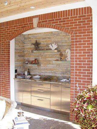 image courtesy of Danver Stainless Outdoor Cabinets