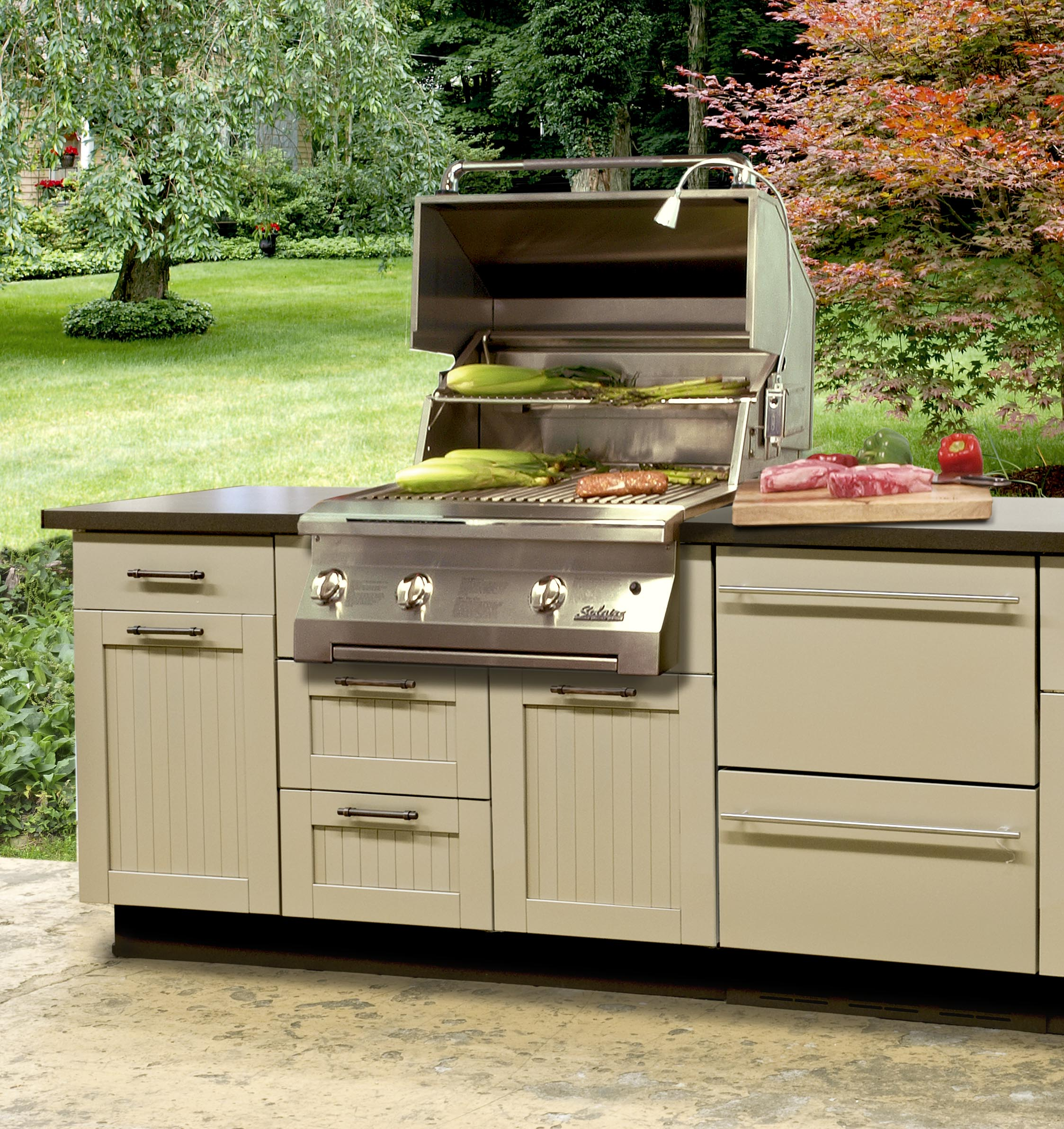 Used Kitchen Cabinets In Maryland: New Trends In Outdoor Kitchen Ideas For 2017