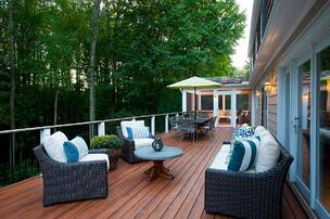 low-maintenance brazilia zuri deck in potomac maryland