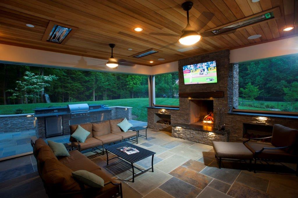 How Are Motorized Retractable Porch Screens Installed In Maryland,  Virginia, And Washington, D.C.?
