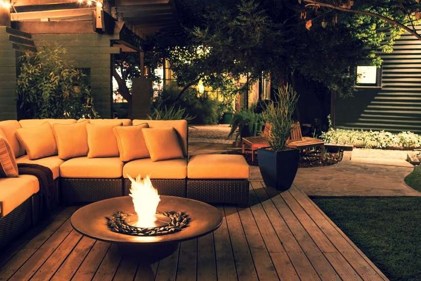 EcoSmart Ayre firepit for backyards in Maryland and Virginia