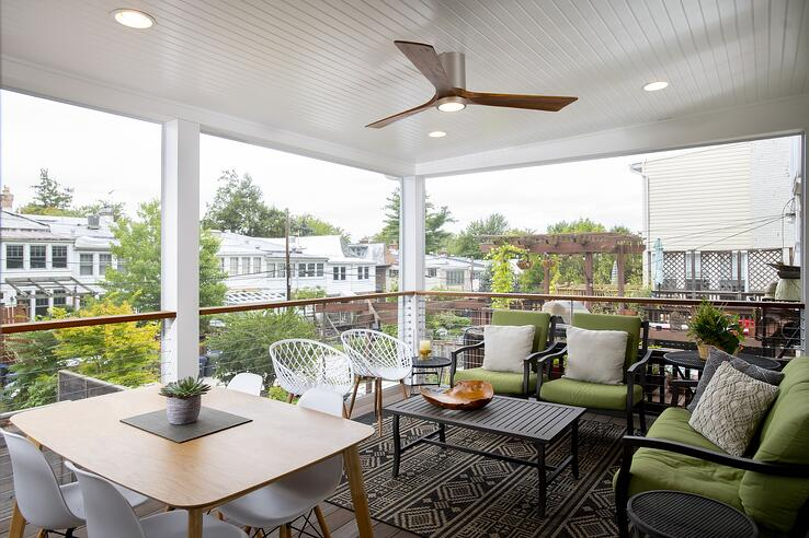 Screen Porch Porch Board Washington DC