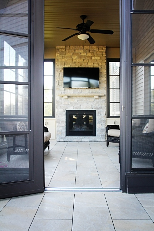 mbrico tile deck screened-in porch
