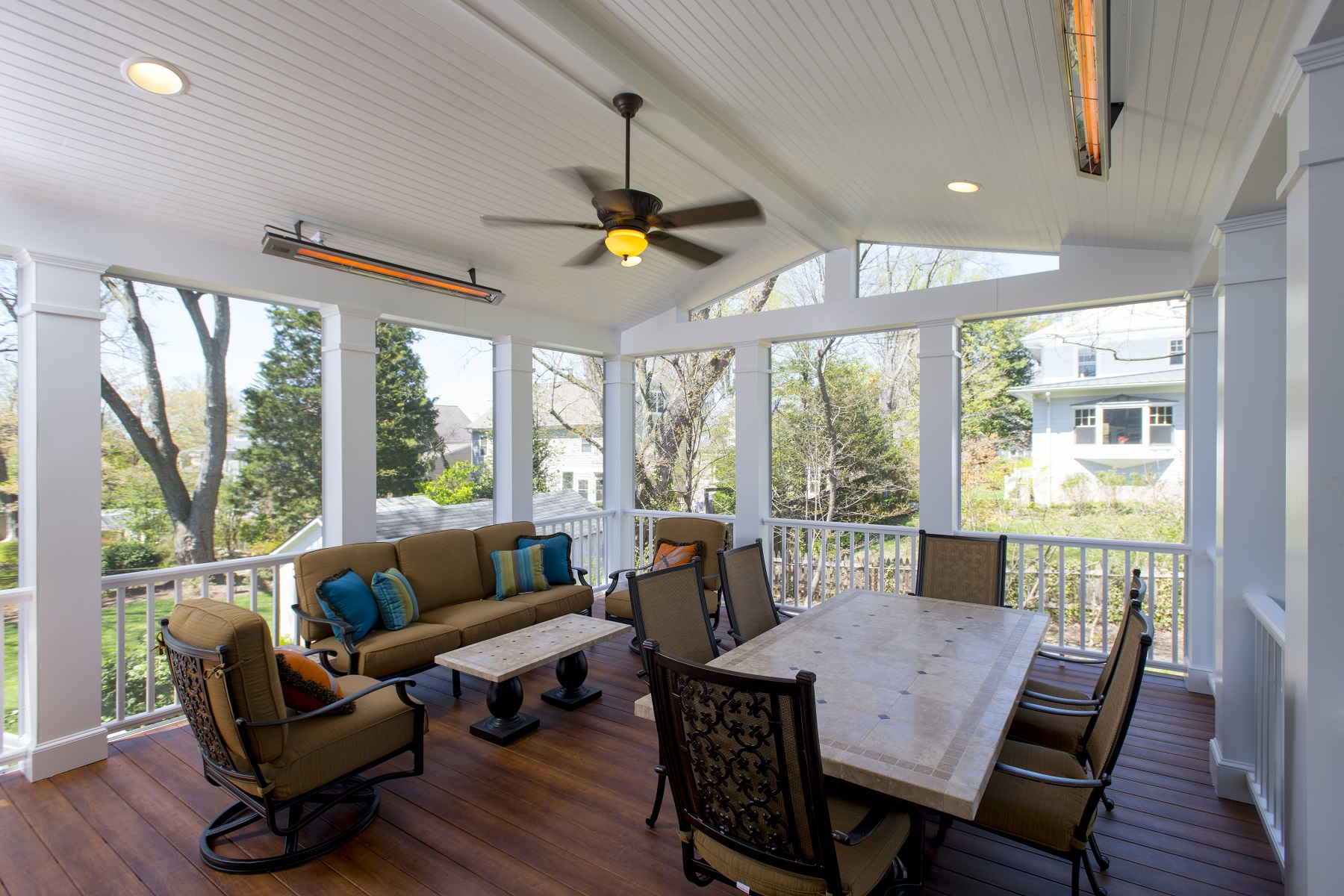 screened porch by design builders, inc in maryland