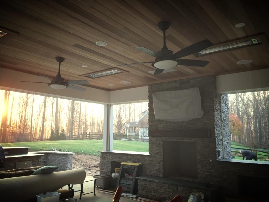 new Infratech outdoor heaters Clifton, VA