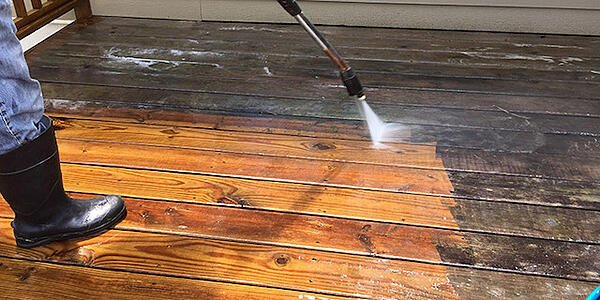 Is It A Good Idea To Wash Your Deck
