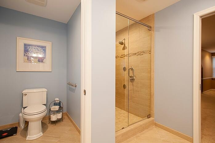 custom ada-compliant bathroom remodel by design builders, inc.